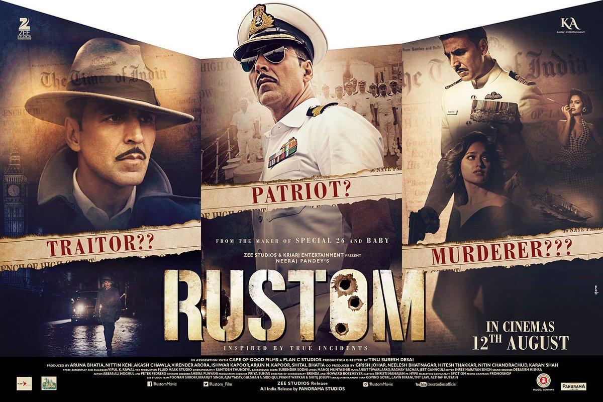 rustom 2016 full movie