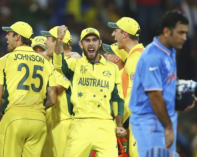 Australia v India: Semi Final - 2015 ICC Cricket World Cup