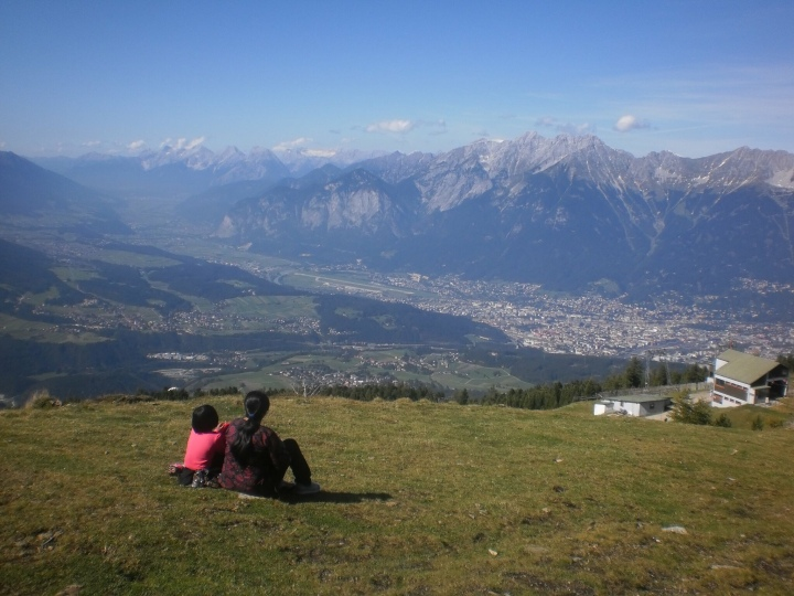 Innsbruck mountains.. where we have visited multiple times.. and where Salman's introduction sequence is shot
