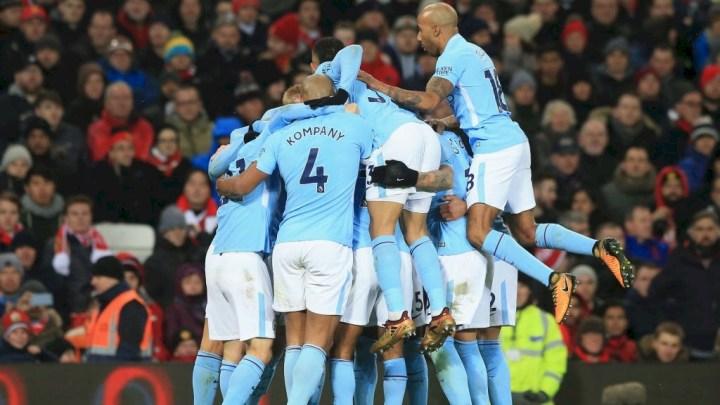 9 City celebrate 1st goal