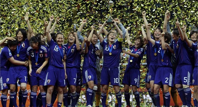 Winning-Japanese-Womens-Soccer-2011-Team