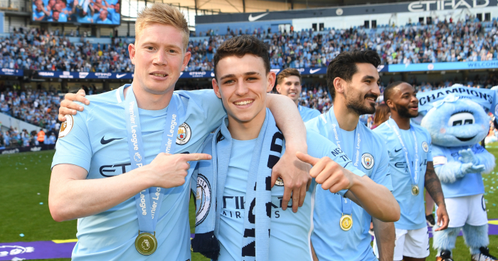 Phil-Foden-Kevin-De-Bruyne-Manchester-City-Premier-League-winners-medal